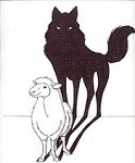wolf_in_sheeps_clothing_drawing